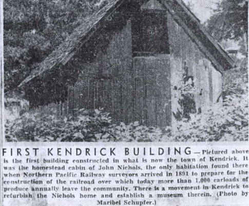item thumbnail for First Kendrick building
