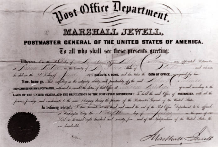 item thumbnail for Post Office Certificate [02]