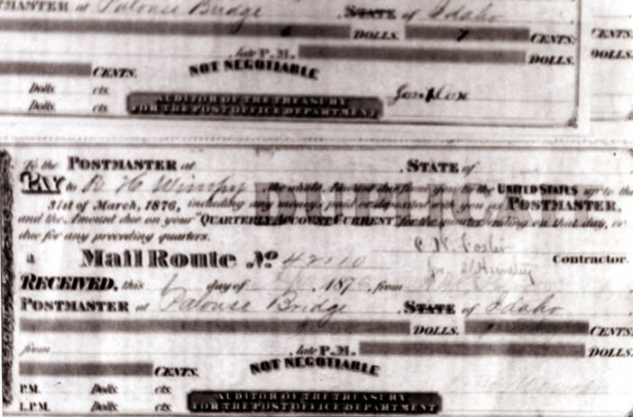item thumbnail for Post Office Certificate [01]