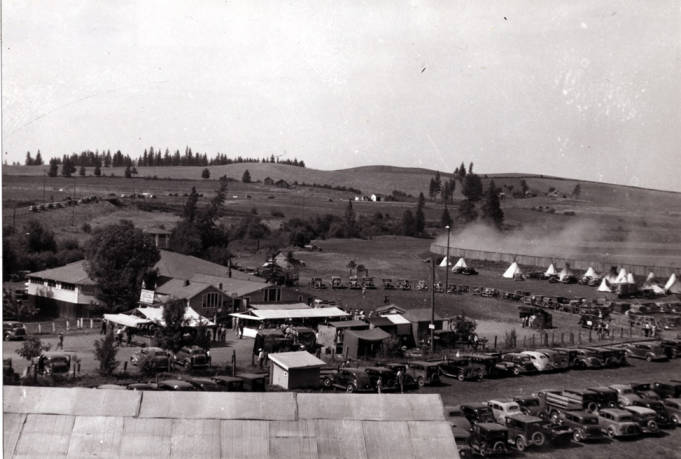 item thumbnail for Looking north showing Kennedy Ford dance hall