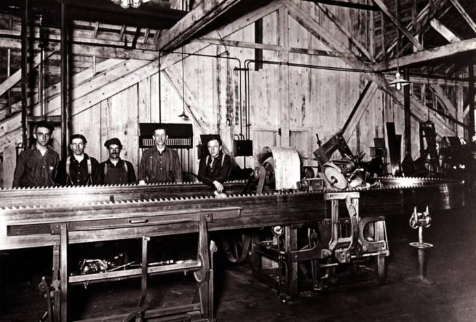 item thumbnail for Potlatch Lumber [Company] saw filing room