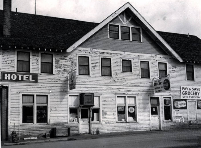 item thumbnail for Hotel and grocery store in Potlatch