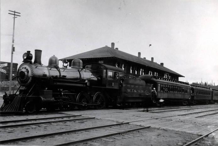 item thumbnail for W.I.&M. [Washington, Idaho & Montana Railway] passenger train
