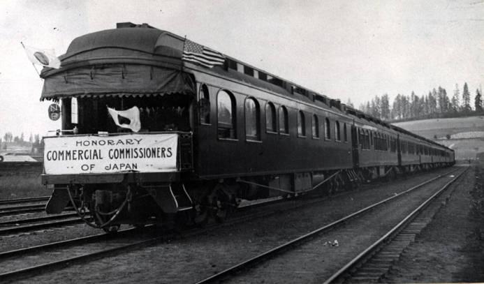 item thumbnail for Passenger train in Potlatch