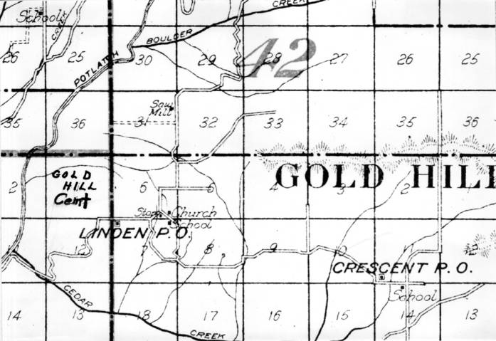 item thumbnail for Photo of Linden/Gold Hill map section