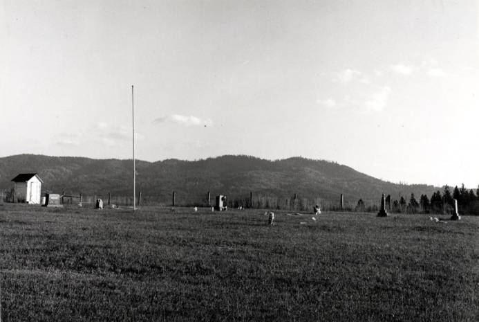 item thumbnail for Looking southeast at the Park, Idaho Cemetery