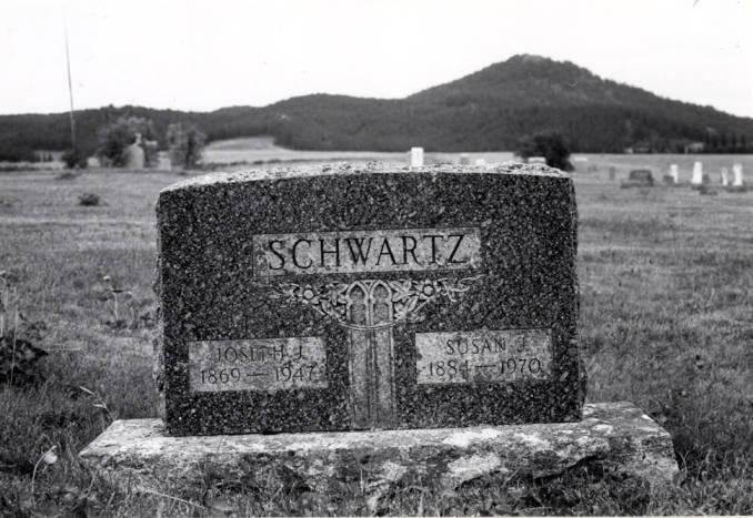 item thumbnail for Schwartz tombstone