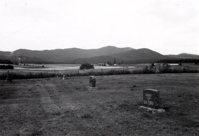 item thumbnail for Looking north from Avon Cemetery