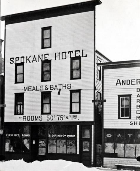 item thumbnail for Spokane Hotel in Bovill