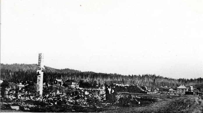 item thumbnail for Bovill after July 4 fire.