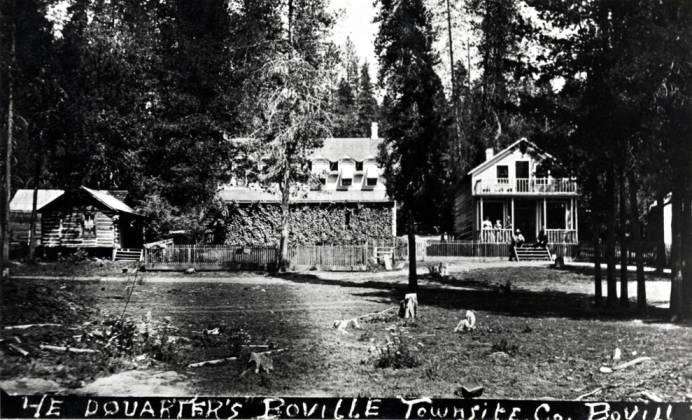 item thumbnail for Headquarters, Bovill Townsite Company