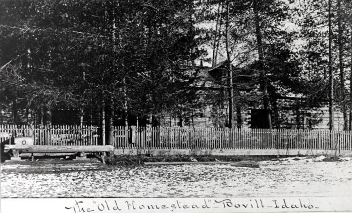 item thumbnail for Old Homestead in Bovill