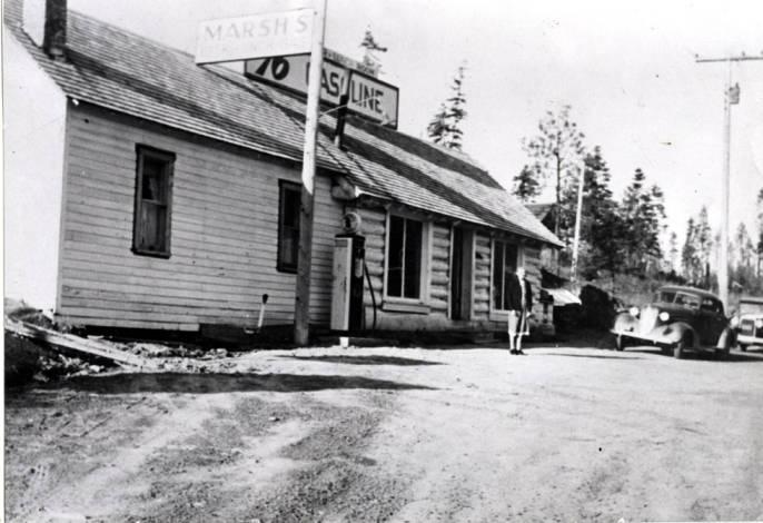 item thumbnail for Marsh's General store/service station