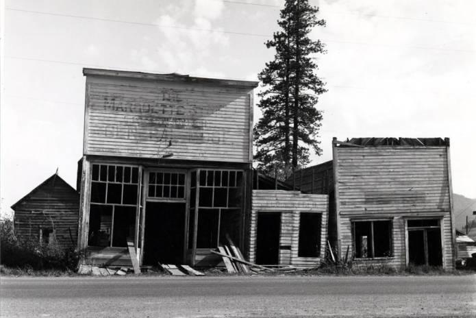 item thumbnail for Pioneer buildings on Main Street