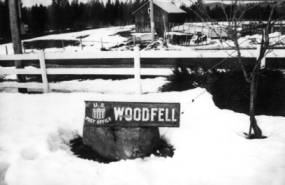 item thumbnail for Woodfell post office sign [01]
