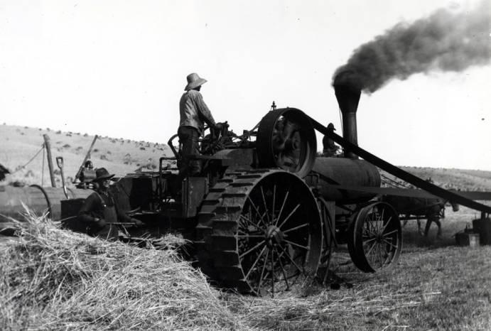 item thumbnail for Steam engine on Love farm