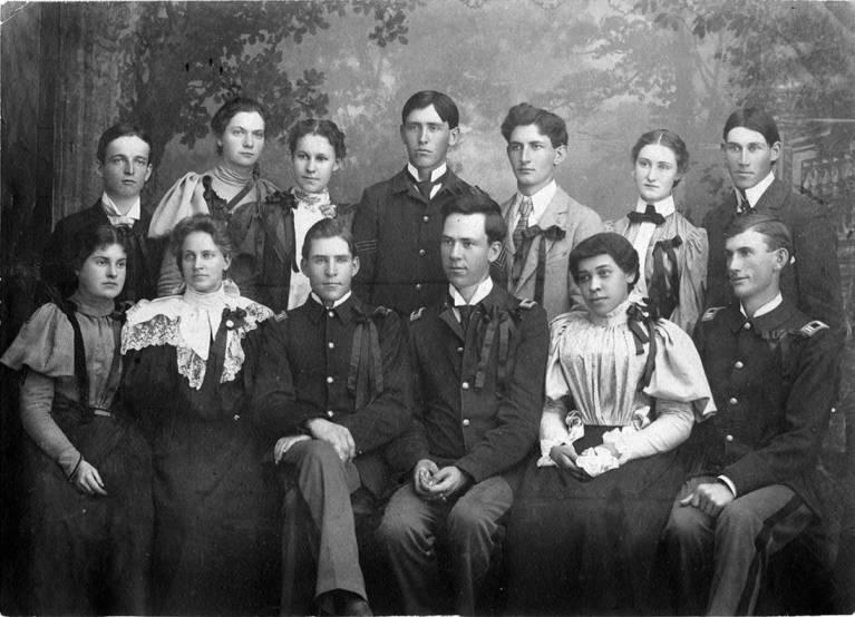 Photograph of University of Idaho Class of 1899