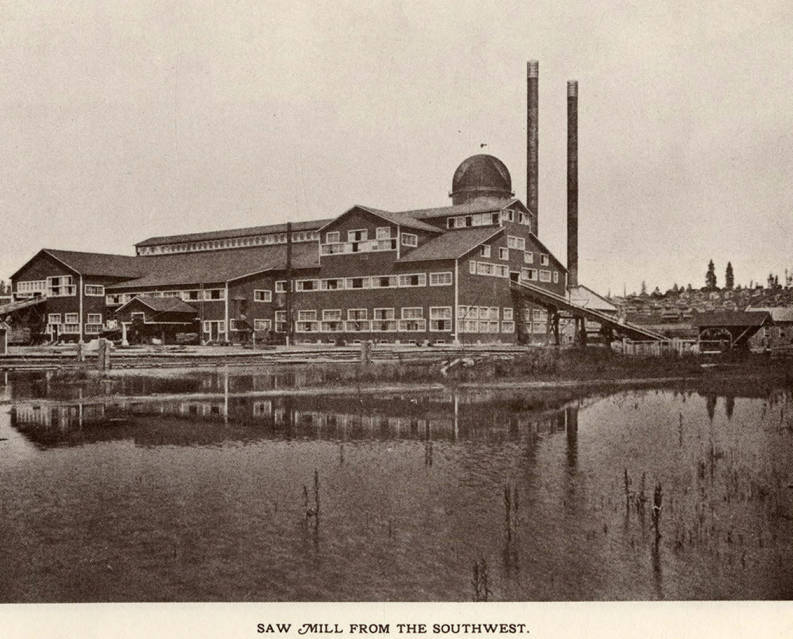 item thumbnail for Saw Mill from the Southwest