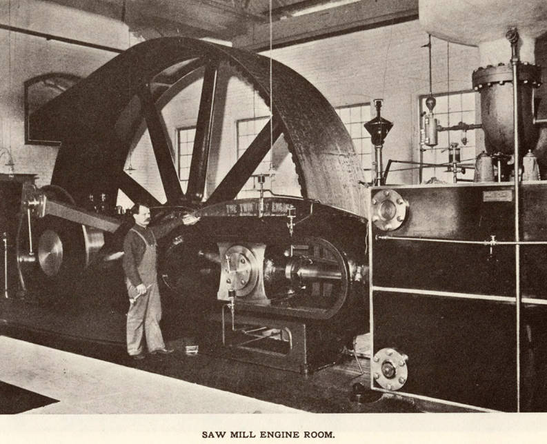 item thumbnail for Saw Mill Engine Room