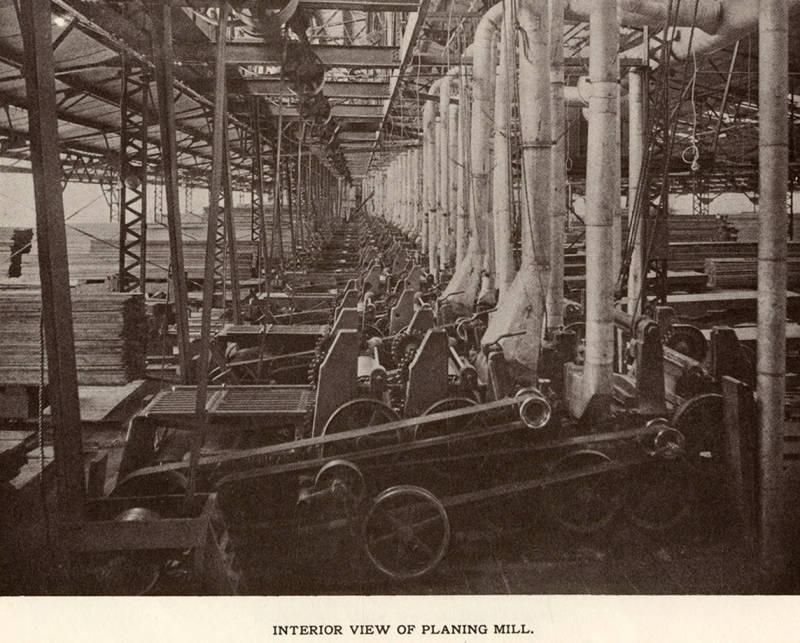 item thumbnail for Planing Mill Interior