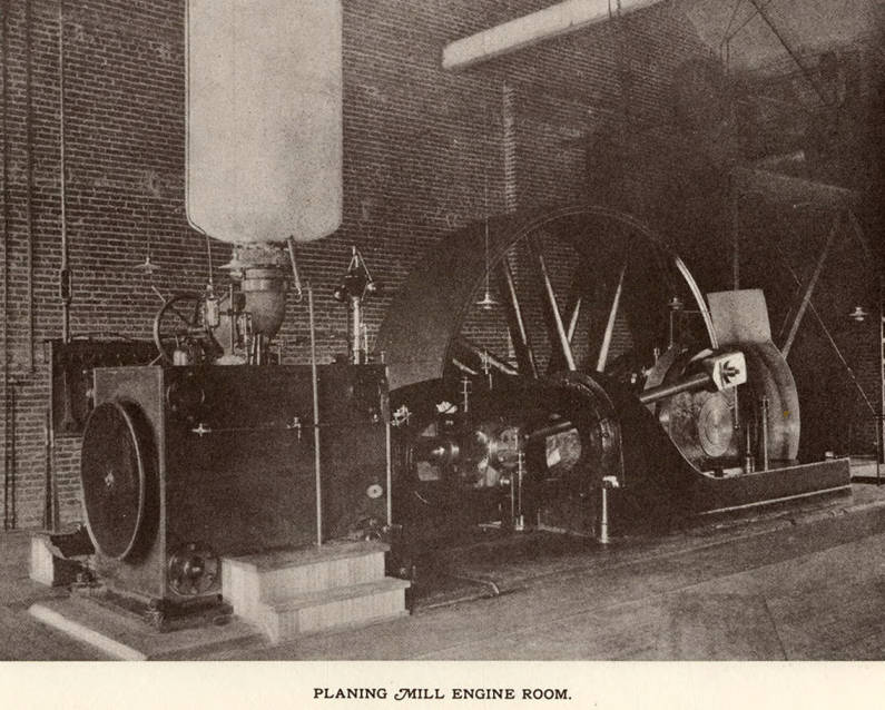 item thumbnail for Planing Mill Engine Room