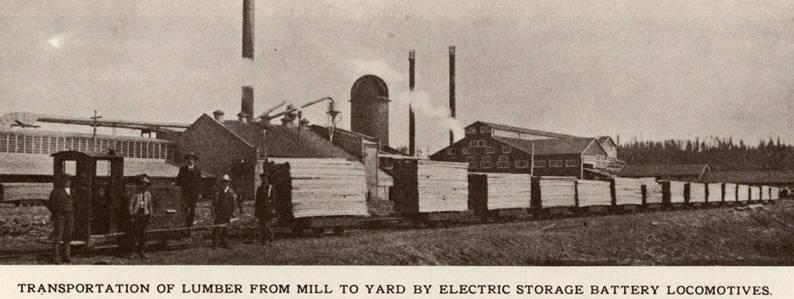 item thumbnail for Locomotive Lumber Transportation