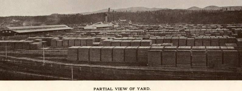 item thumbnail for Lumber Yard; Partial View