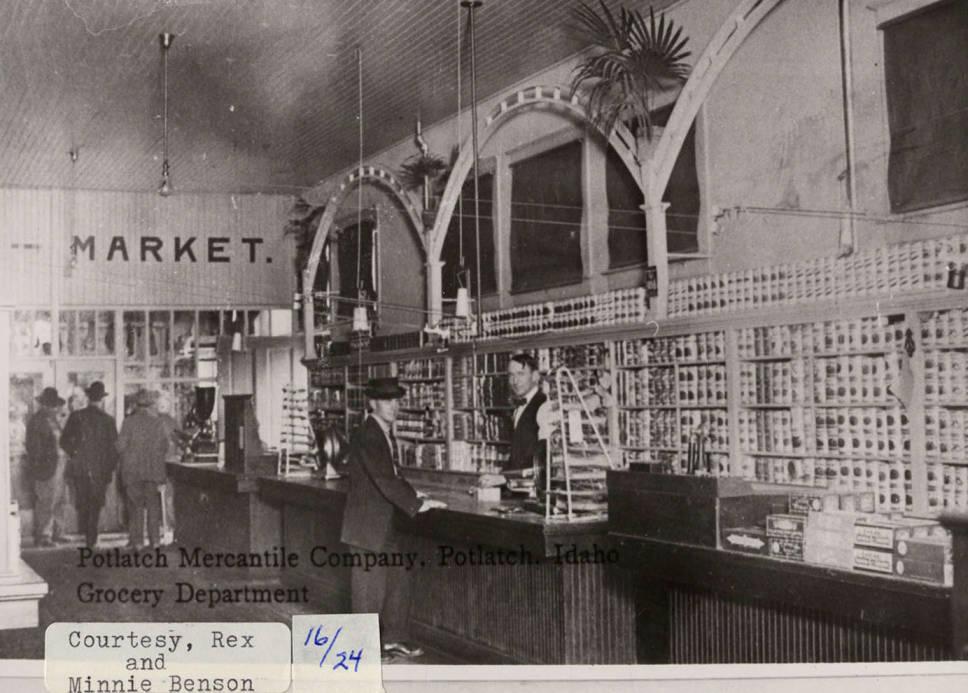 item thumbnail for Potlatch Mercantile Co. Grocery Dept.