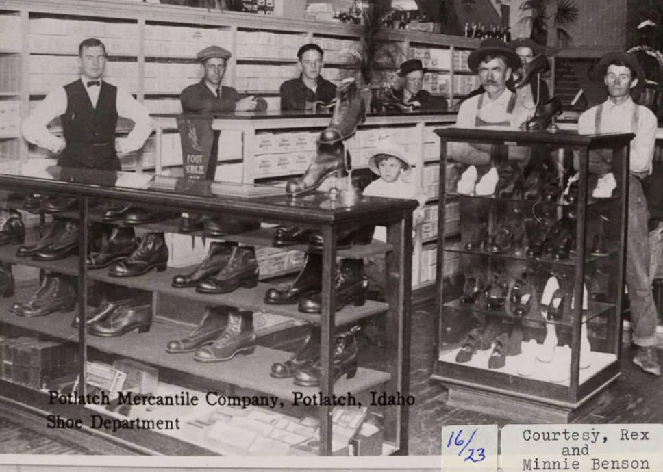 item thumbnail for Potlatch Mercantile Co. Shoe Dept.