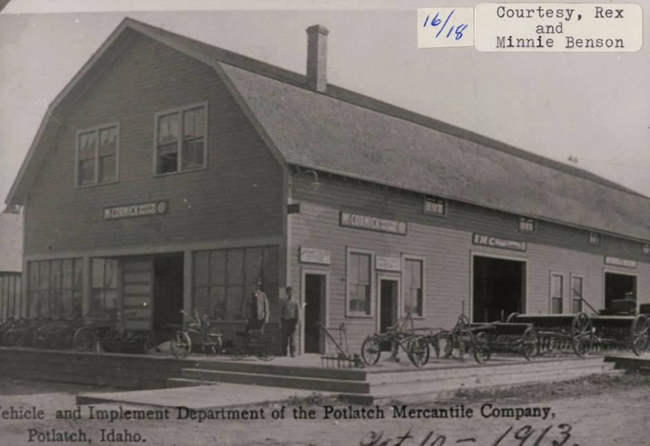 item thumbnail for Potlatch Mercantile Co. Vehicle & Implement Dept.