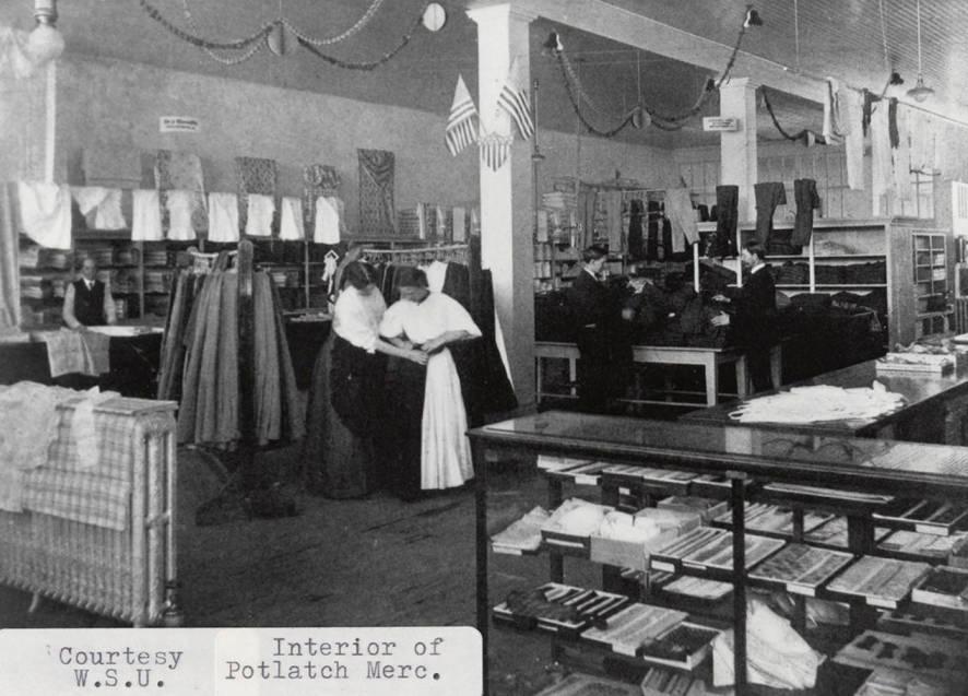 item thumbnail for Potlatch Mercantile Co. Interior