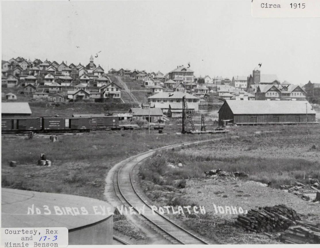 item thumbnail for Potlatch, Idaho Circa 1915