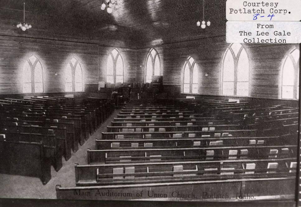 item thumbnail for Main Auditorium of Union Church