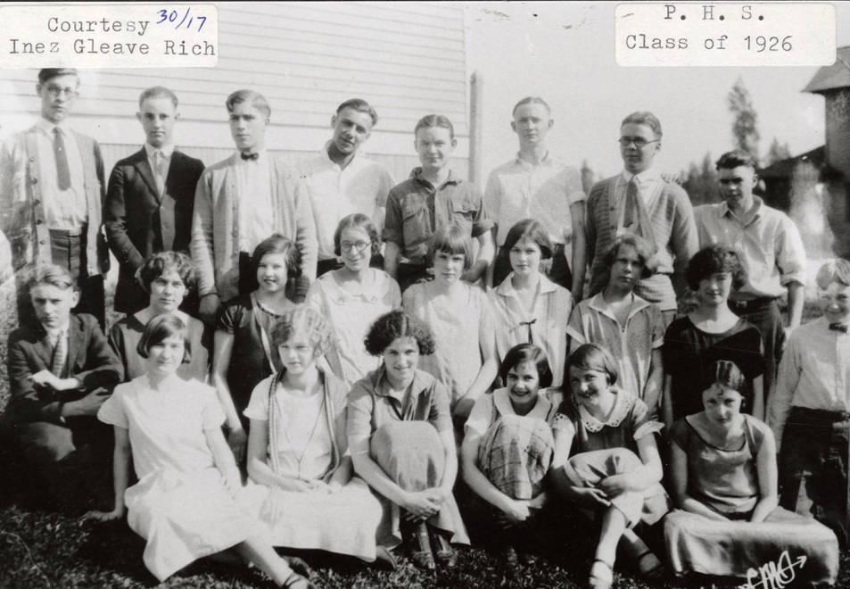 item thumbnail for Potlatch High School Class of 1926