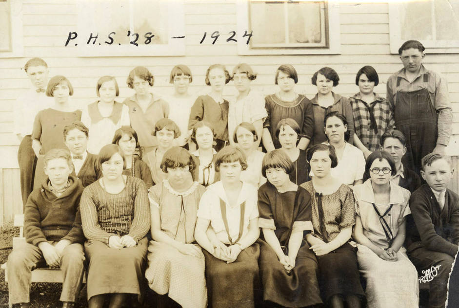 item thumbnail for P.H.S. Class of 1928