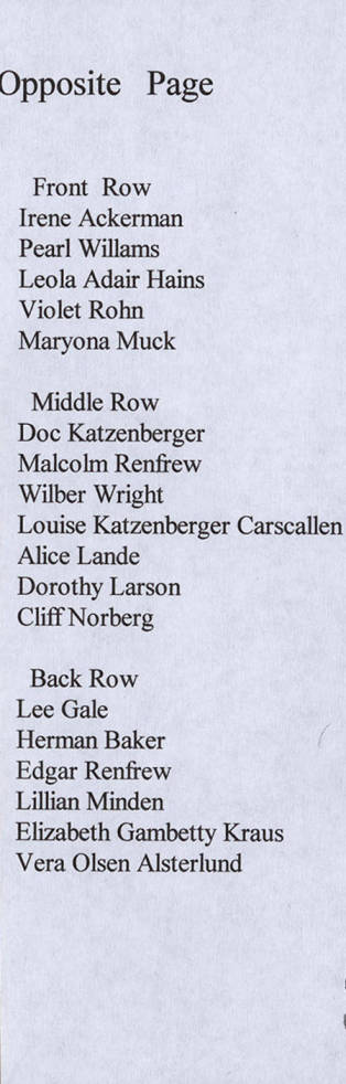 item thumbnail for P.H.S Classes '24-'34 Names
