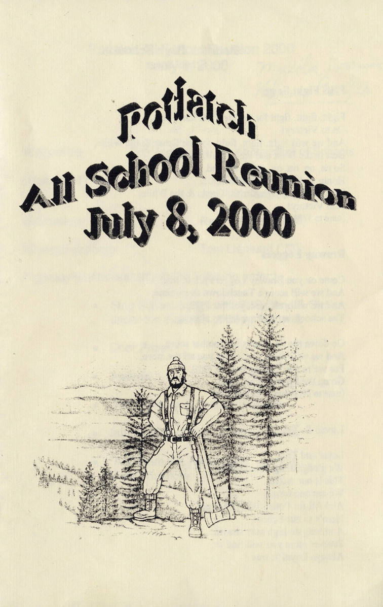 item thumbnail for Potlatch All School Reunion Cover