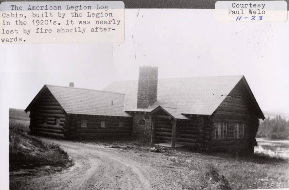 item thumbnail for American Legion Log Cabin