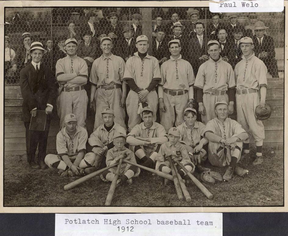 item thumbnail for P.H.S. Baseball Team 1912