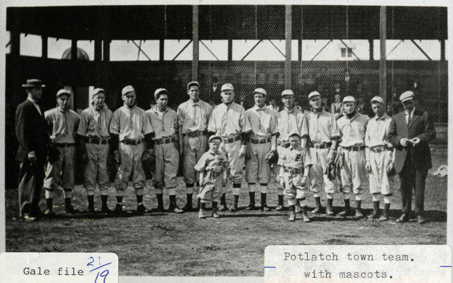 item thumbnail for Potlatch Town Baseball Team