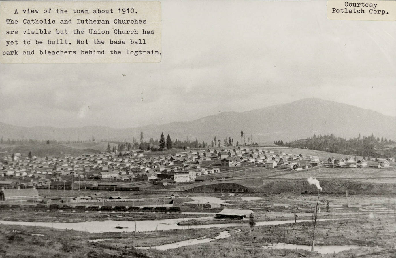 item thumbnail for Potlatch, Idaho Landscape 1910