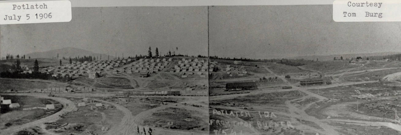 item thumbnail for Potlatch, Idaho Landscape 1906