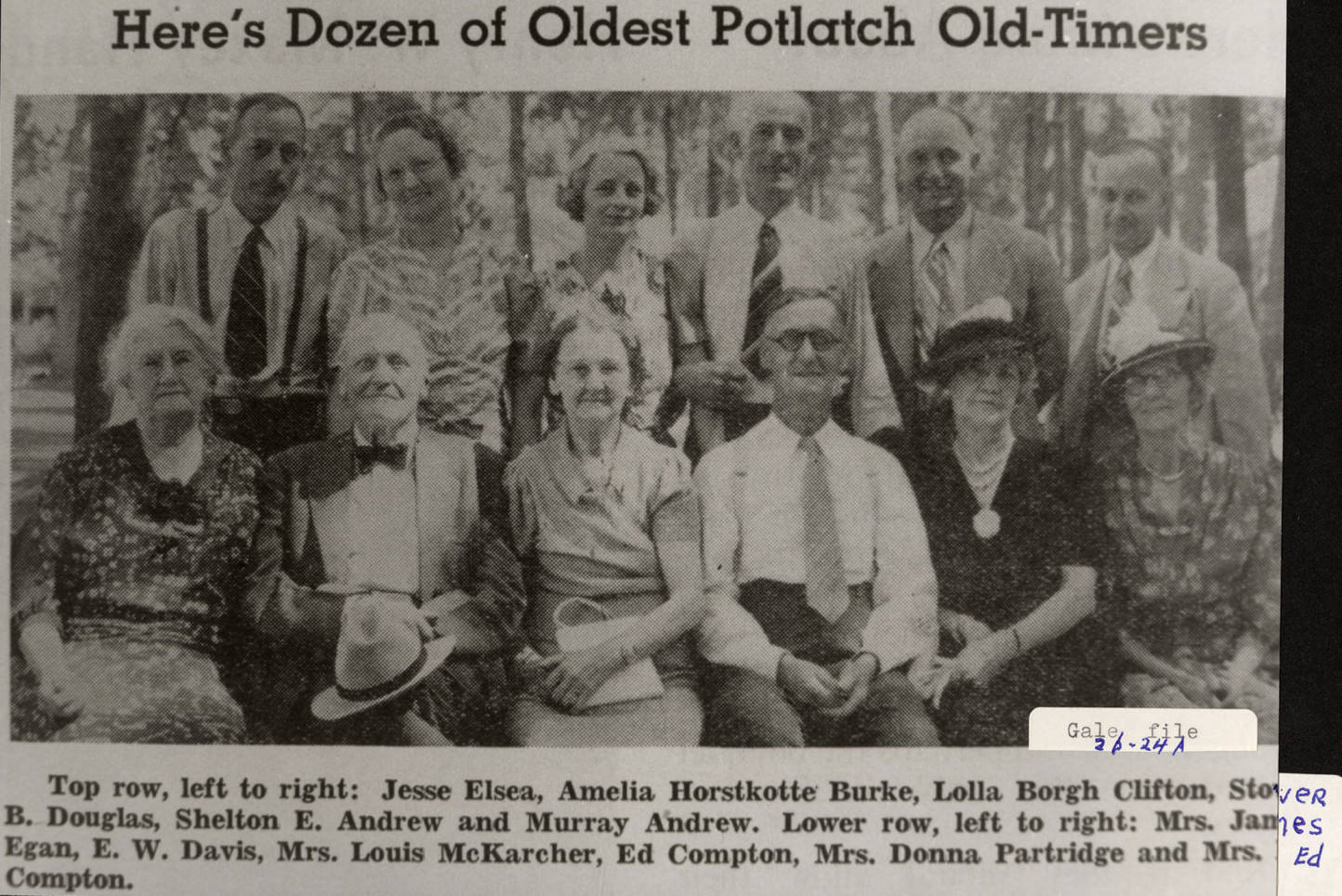 item thumbnail for Potlatch Old Timers