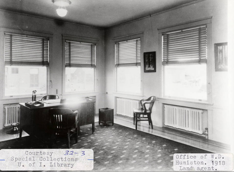 item thumbnail for W.D. Humiston's Office
