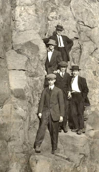 item thumbnail for Group of Men