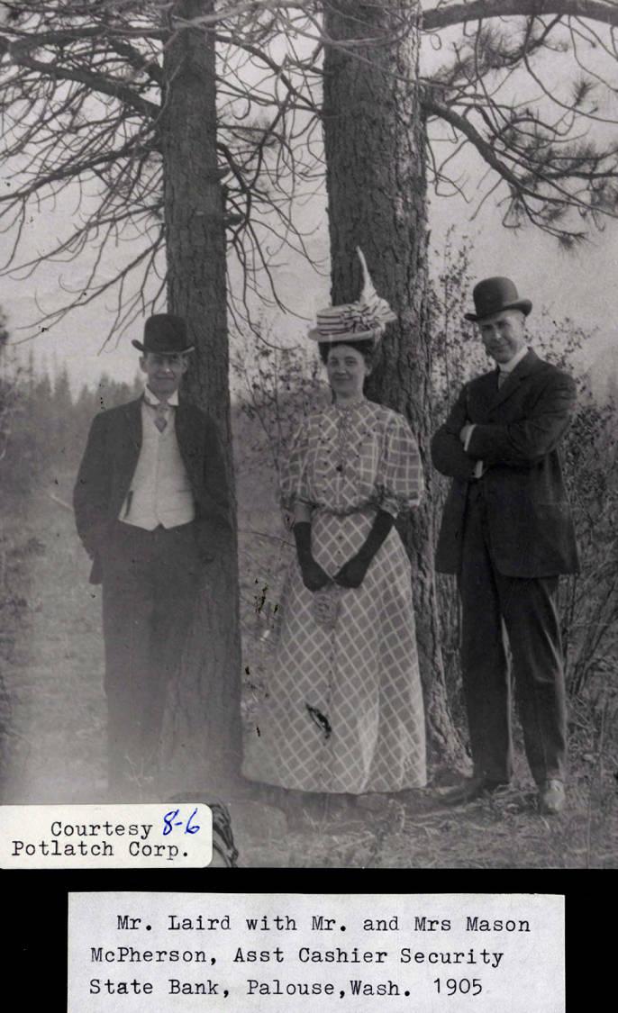 item thumbnail for Mr. Larid with Mr. and Mrs. Mason McPherson