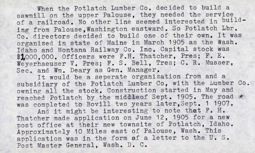 item thumbnail for History of Potlatch