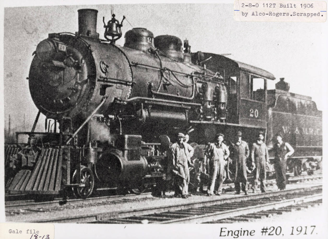 item thumbnail for Engine No. 20
