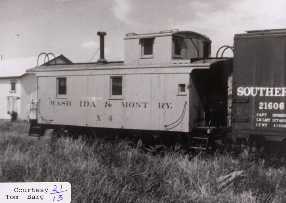 item thumbnail for WI&M Railroad Car