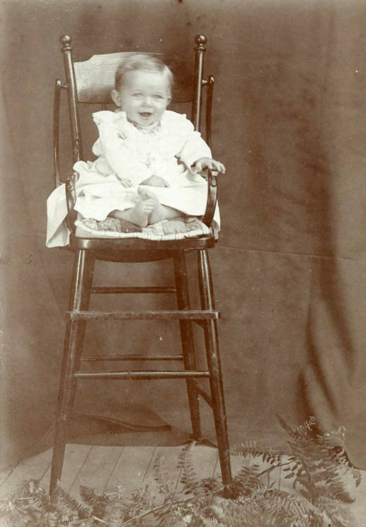 item thumbnail for Edward ''Eddie'' Bysegger as an infant